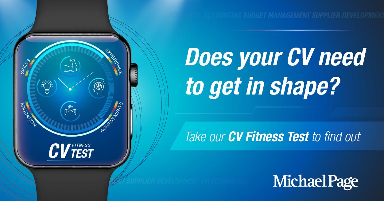 Cv fitness test