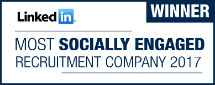 PageGroup Awarded Most Socially Engaged Recruiter on LinkedIn